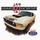 Ziggy's Hot Rods Warhorse 427 Mustang T-Shirt #2 by blulime