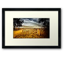 Road to Tara Framed Print