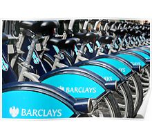 Boris Bike Blues Poster