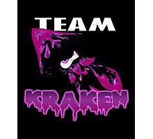 Team KRAKEN (Purple) Photographic Print