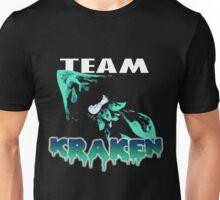 Team KRAKEN (Cyan) Unisex T-Shirt