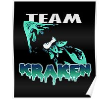 Team KRAKEN (Cyan) Poster