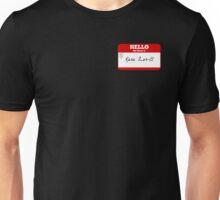 Hello My Name Is Kara Zor-El Sticker - Supergirl Unisex T-Shirt