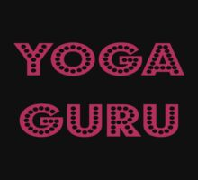 Yoga Guru Cool T-Shirt Sticker Baby Tee