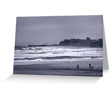 Whitby in Winter Greeting Card