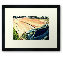 She would've been flash back in her day Framed Print