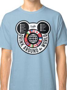 Drink Around the World - EPCOT Checklist v2 Classic T-Shirt