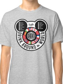 Drink Around the World - EPCOT Checklist v2 Classic T-Shirt