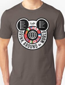 Drink Around the World - EPCOT Checklist v2 T-Shirt