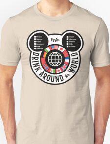 Drink Around the World - EPCOT Checklist v2 T-Shirt