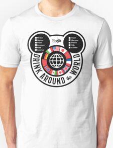 Drink Around the World - EPCOT Checklist v2 Unisex T-Shirt