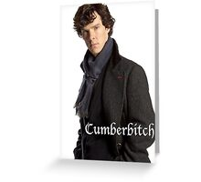 Cumberbitch Greeting Card