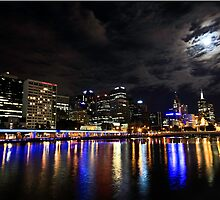 Glowing on the Yarra by Simon Penrose