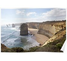 12 Apostles Mid Afternoon Poster