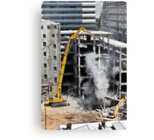 Out with the old. . . . Canvas Print