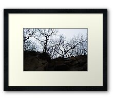 Above Framed Print