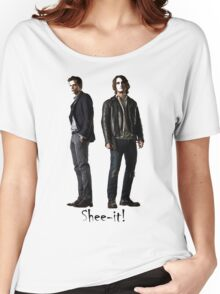 Roman & Peter Shee-it! Women's Relaxed Fit T-Shirt