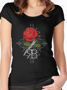 RumBelle. Women's Fitted Scoop T-Shirt