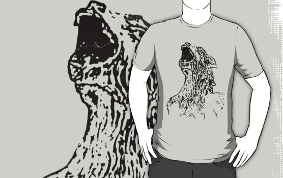 Cool Gargoyle Grunge T-Shirt by Denis Marsili - DDTK