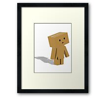 Cardboard Friend Framed Print