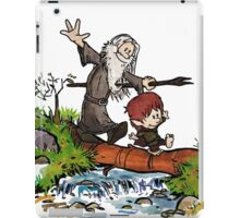 Lord of the Rings meets Calvin and Hobbes iPad Case/Skin