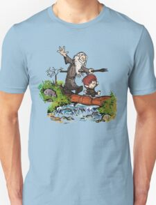 Lord of the Rings meets Calvin and Hobbes Unisex T-Shirt