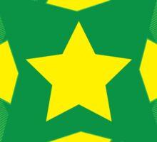 Star circle Sticker