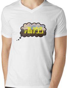 Minge Mens V-Neck T-Shirt