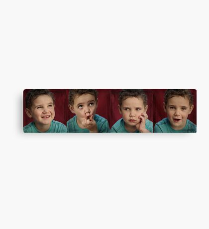 The Faces of Reilly Canvas Print