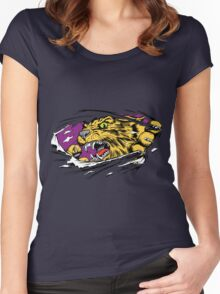 Tiger Ripping Women's Fitted Scoop T-Shirt