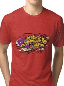 Tiger Ripping Tri-blend T-Shirt