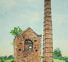 Cobbs Engine House - Black Country by Lynne  M Kirby BA(Hons)