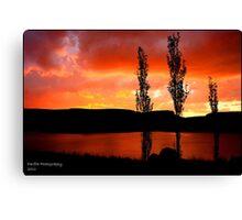 Kwantani, sunset Canvas Print
