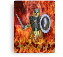 Skealtion Warrior Canvas Print