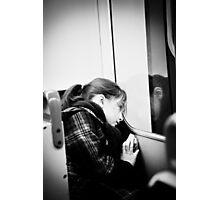 Bored Photographic Print
