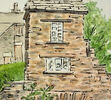 Old Bridge House - Ambleside, Lake District, Cumbria. by Lynne  M Kirby BA(Hons)