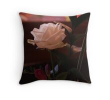 Table Flower Throw Pillow