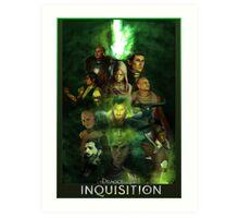Dragon Age: Inquisition Art Print