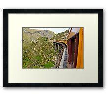 Viaduct, Taieri Gorge Railway Framed Print