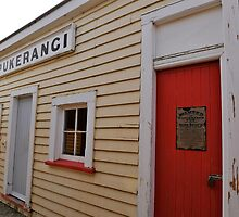 Pukerangi Station, Taieri Gorge Railway by Pete  Burton