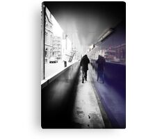 Where Are You Going.....? Canvas Print
