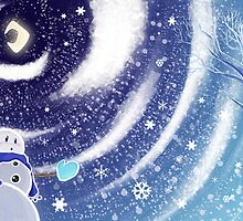 Moon Snow by SaradaBoru