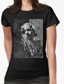 Carole Lombard Womens Fitted T-Shirt