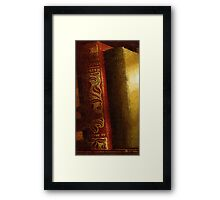 Long Out of Print Framed Print