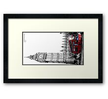 Big Ben and bus Framed Print