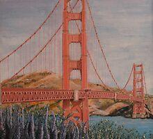Golden Gate Bridge In Full Bloom by Kashmere1646