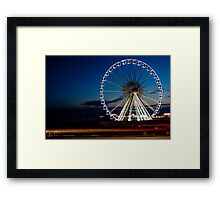 Drive on by Framed Print