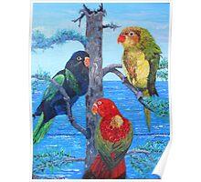 Trilogy in Bird Poster