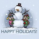 Happy Holidays! by penguinstein