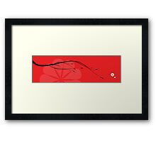 Japanese branch Framed Print